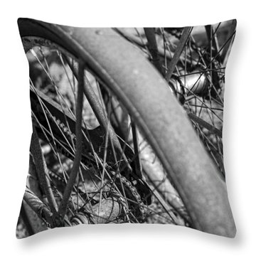 Western Flyer Throw Pillow by Gordon Dean II