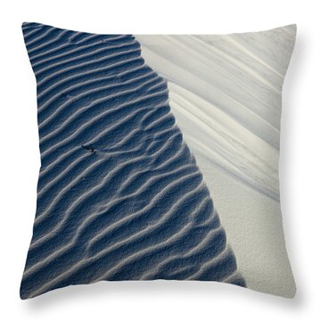 White Sands Throw Pillow