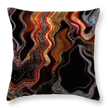 Wired Throw Pillow by Skip Nall
