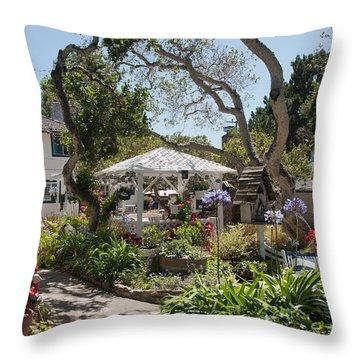 Carmel Throw Pillow by Carol Ailles