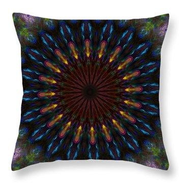 10 Minute Art 120611a Throw Pillow by David Lane