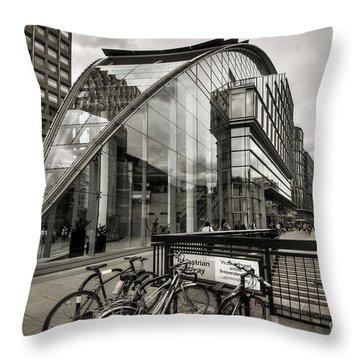 100 Victoria Street - London Throw Pillow