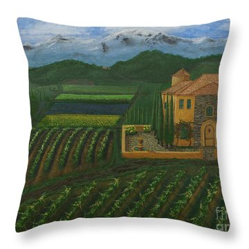 11425 Tuscany Throw Pillow