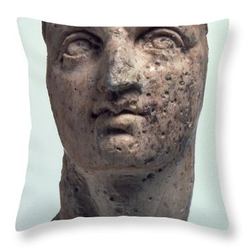 Alexander The Great Throw Pillow by Granger