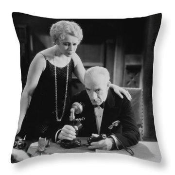 Film Still: Telephones Throw Pillow by Granger