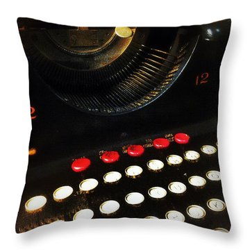 12 To 12 Throw Pillow by Olivier Calas