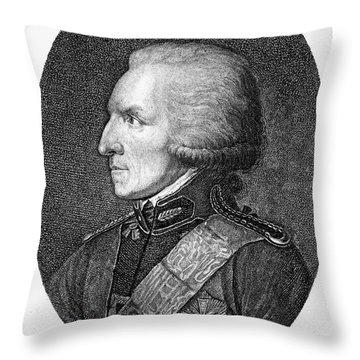 Benjamin Thompson Throw Pillow by Granger