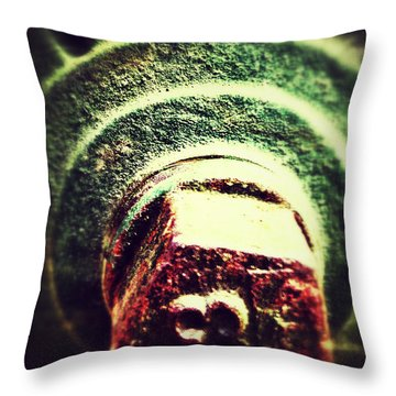 13 Throw Pillow by Olivier Calas