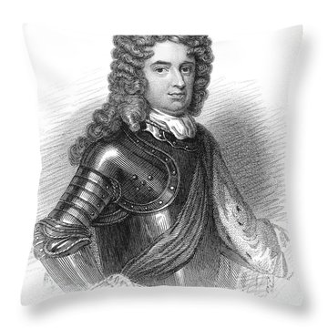John Churchill (1650-1722) Throw Pillow by Granger