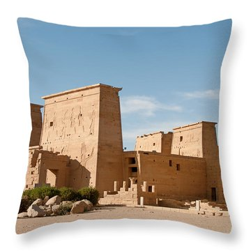 Philae Throw Pillow