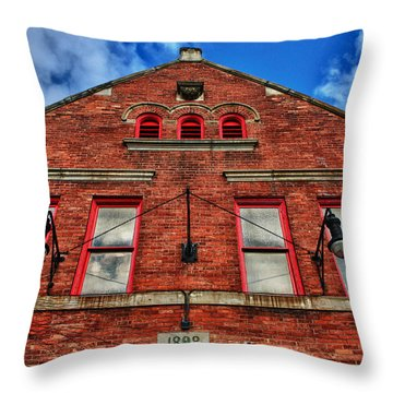 Throw Pillow featuring the photograph 1898 by Rachel Cohen