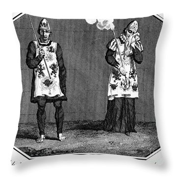 Spanish Inquisition Throw Pillow by Granger
