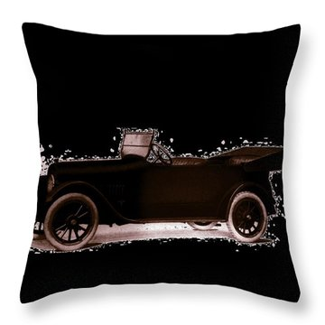 Throw Pillow featuring the photograph 1919 Studebaker Eh by Maciek Froncisz