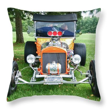 1923 T-bucket 8584 Throw Pillow by Guy Whiteley