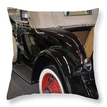 1931 Chevy Cabriolet Throw Pillow