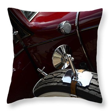1932 Chevrolet Detail Throw Pillow by Bob Christopher