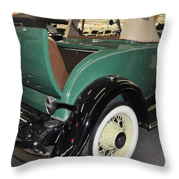 1932 Chevy Confederate Roadster Throw Pillow