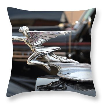1934 Packard  Throw Pillow by Sue Stefanowicz