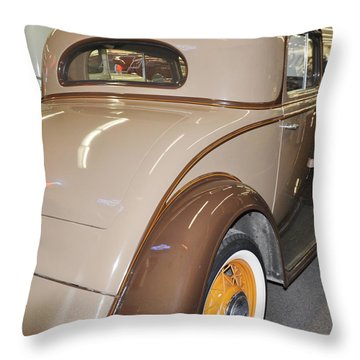 1935 3 Window Coupe Throw Pillow