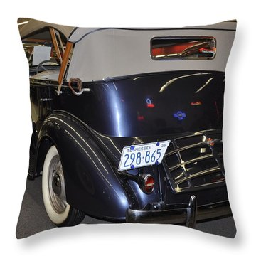 1936  Chevy Phaeton Throw Pillow