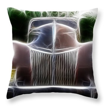 1939 Ford Deluxe Throw Pillow by Paul Ward