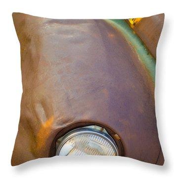 1941 International Truck Fender Throw Pillow