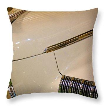 1941 Nash Ambassador Eight Throw Pillow by David Patterson
