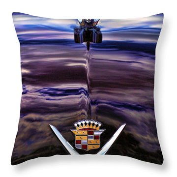 1949 Cadillac Throw Pillow by Gordon Dean II