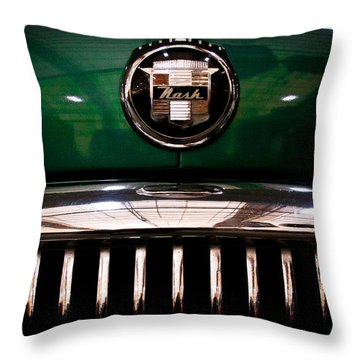 1951 Nash Statesman Super 6 Throw Pillow by David Patterson