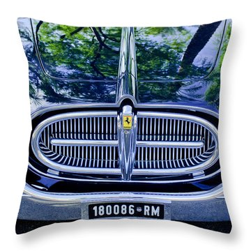 1952 Ferrari 212 Vignale Front End Throw Pillow by Jill Reger