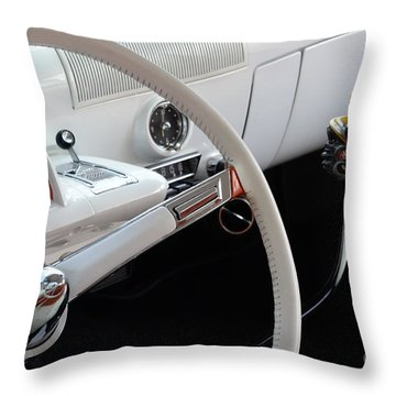 1952 Mercury Interior Throw Pillow by Bob Christopher