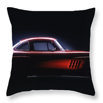 1954 Mercedes 300sl Gullwing Throw Pillow