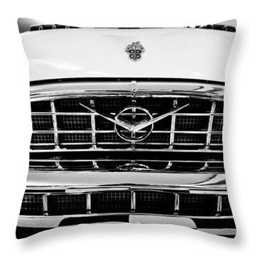 1956 Packard Caribbean Custom Cvt Throw Pillow