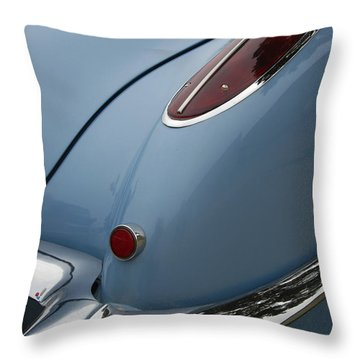 1958 Corvette Throw Pillow
