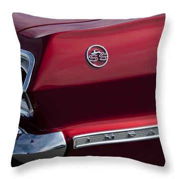 1963 Chevrolet Impala Ss Taillight Throw Pillow by Jill Reger