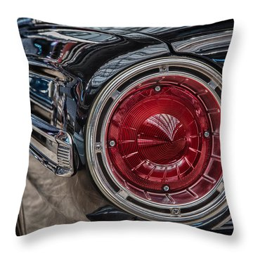 1964 Ford Throw Pillow by James Woody