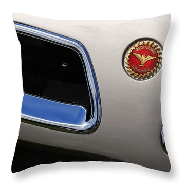 1966 Bizzarini 5300 Spyder Throw Pillow by Gordon Dean II