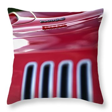 1971 Plymouth 'cuda 340 Throw Pillow by Gordon Dean II
