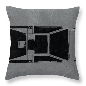 1972 Maserati Boomerang Throw Pillow by Naxart Studio