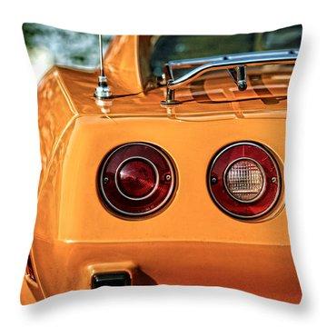 1977 Chevrolet Corvette Throw Pillow