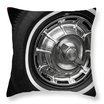 1962 Chevrolet Corvette Throw Pillow