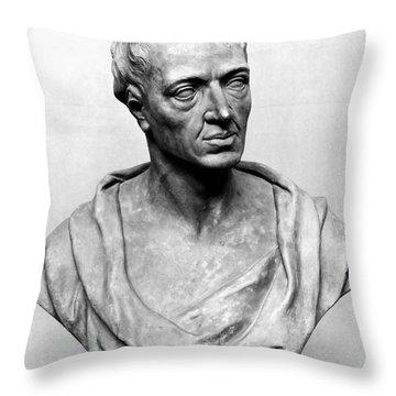 Alexander Pope (1688-1744) Throw Pillow by Granger