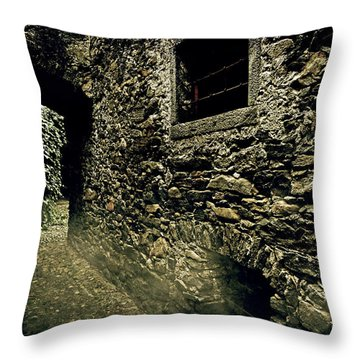 Alley Throw Pillow by Joana Kruse