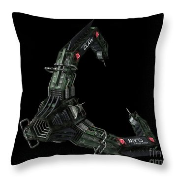 Artists Concept Of The Assimilators Throw Pillow by Rhys Taylor