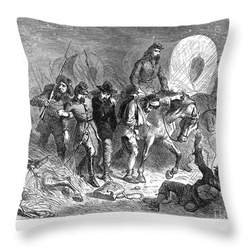 Civil War: Shiloh, 1862 Throw Pillow by Granger