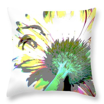 Color Me Under Throw Pillow
