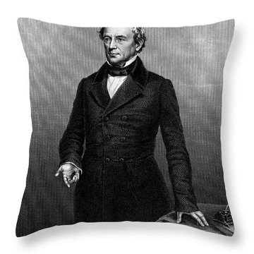 Edward Everett (1794-1865) Throw Pillow by Granger