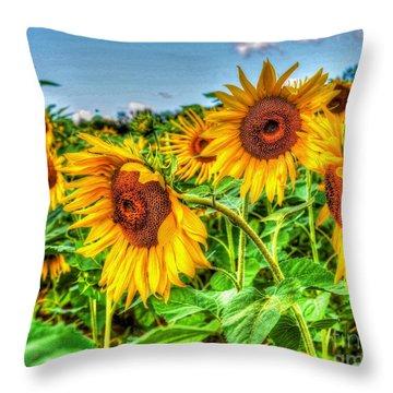 Field Of Dreams Throw Pillow by Debbi Granruth