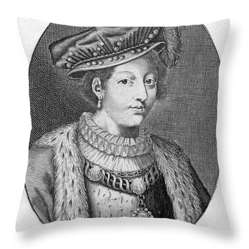 Francis II (1544-1560) Throw Pillow by Granger