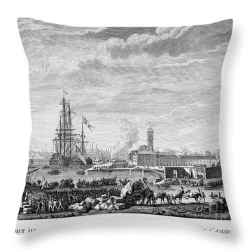 French Revolution, 1790 Throw Pillow by Granger